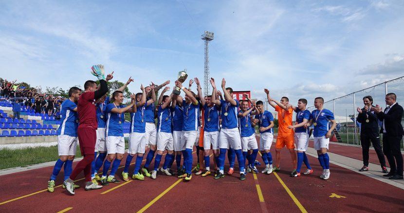 Вицепрезидентът на БФС връчи Купата и златните медали на Спартак