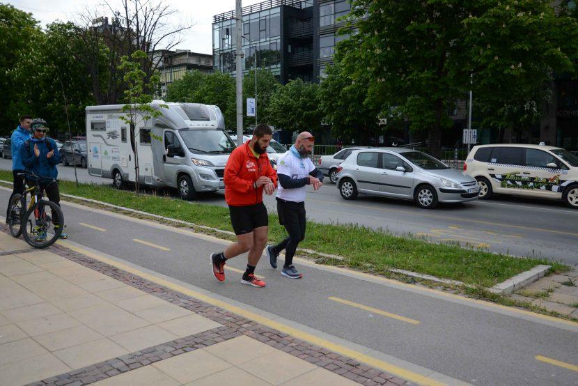 Ултрамаратон по европейски коридор №8 започна от Варна