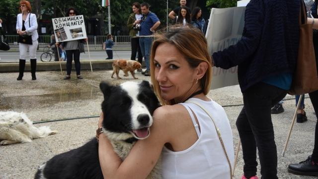 Протест срещу насилието над животни се проведе във Варна