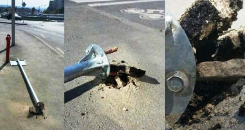 """Бързата работа срам за майстора ли се оказа на булевард """"Левски"""" (снимки)"""
