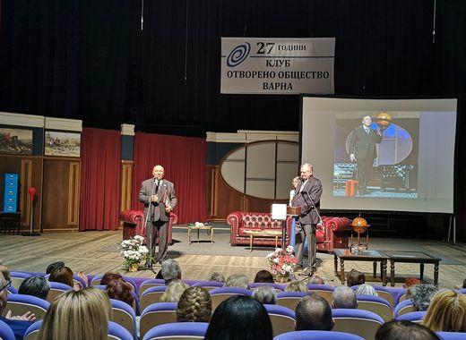 Кръстю Лафазанов получи награда в родната си Варна