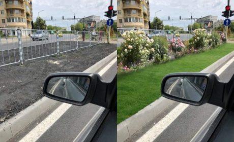 Варненец с предложение как да изглеждат тревните площи около предпазните ограждения