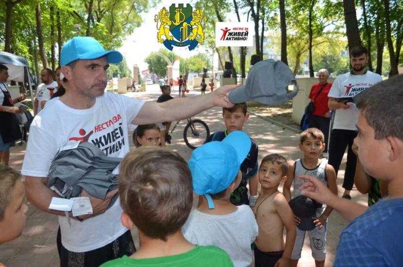 Община Девня се включи в кампания за промоция на движението, спорта и балансираното хранене (снимки)