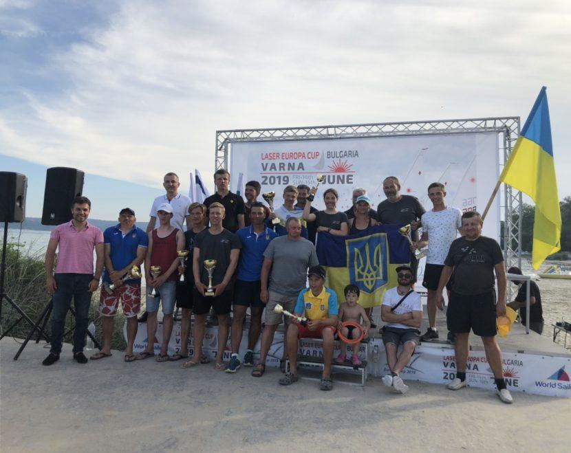 Наградиха победителите от Европейската купа по ветроходство (снимки)
