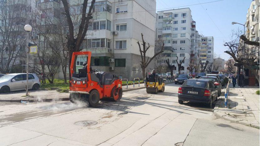 Започна рехабилитация на малките улици във Варна