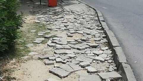 Румънци се оплакват от инфраструктурата в КК Златни пясъци (снимки)
