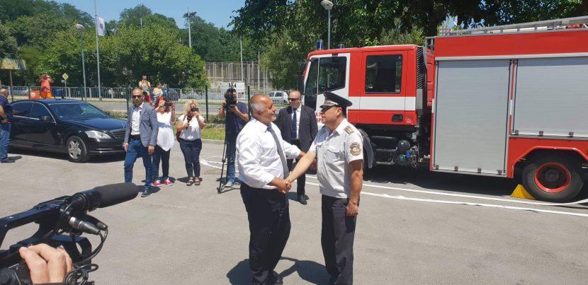 Бойко Борисов  откри пожарната в Аспарухово (видео)