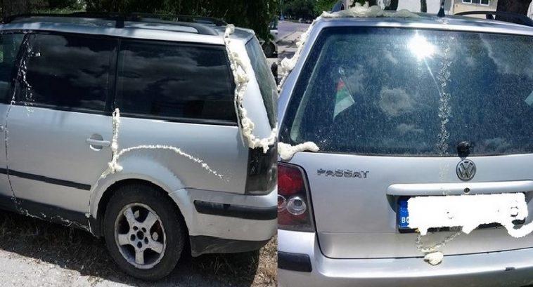 Акция! Запечатват коли с монтажна пяна които спират неправилно във Варна