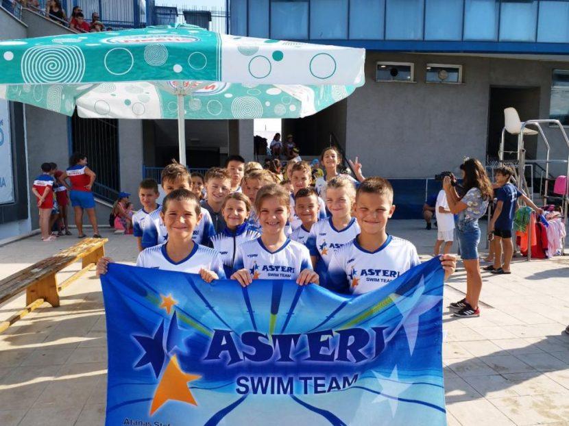 """Малките състезатели на """"Астери"""" с 15 медала"""