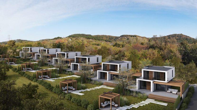 Супер луксозни самостоятелни къщи на 10 минути от центъра на Варна