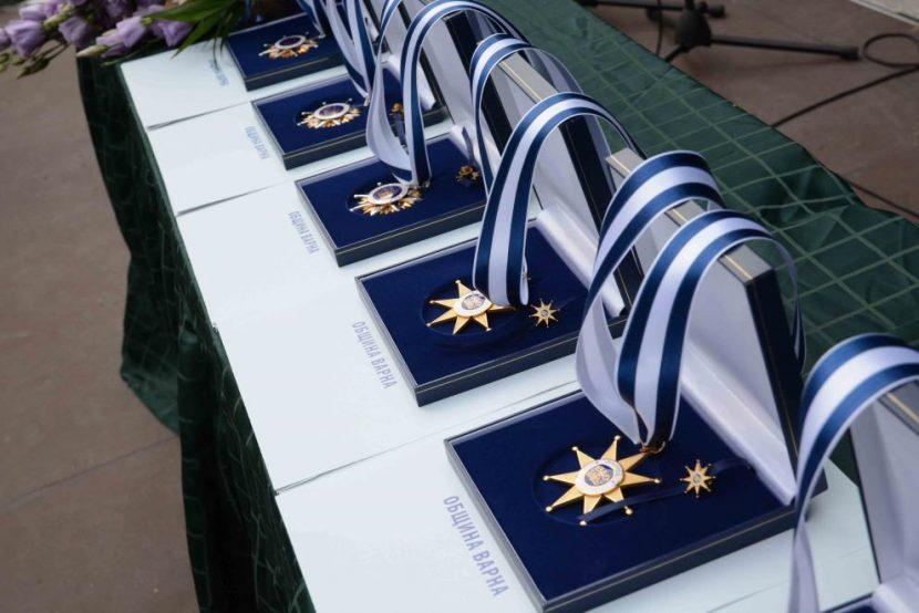 По повод празника – връчиха отличията на изявени варненци