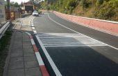 Поставят шумяща маркировка на две пътни отсечки с концентрация на ПТП във Варненско