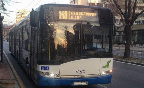 Екшън в автобус №148, кипърец буйства