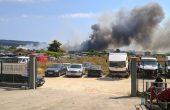 Читател на Будна Варна: пожара достигна автосалоните
