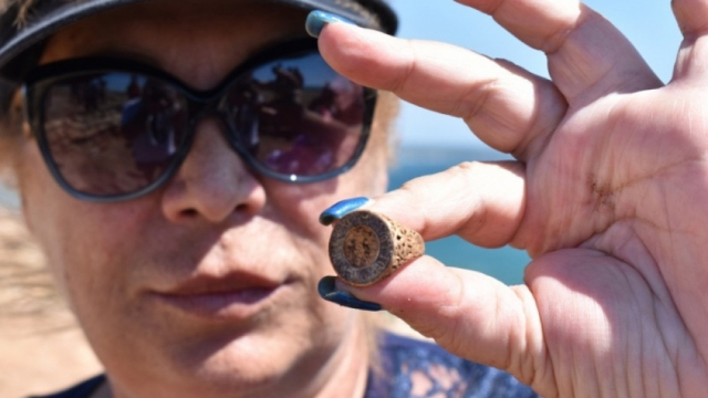 Археолози откриха златен пръстен на аристократ край нос Калиакра