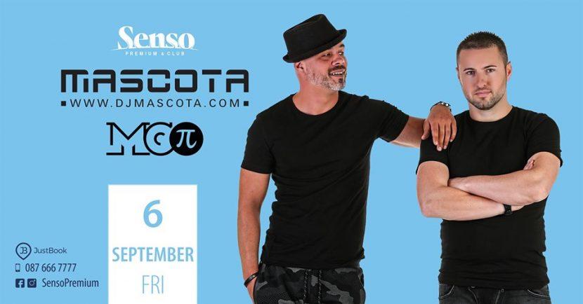 Mascota & Mc P тази вечер в Senso Premium & Club