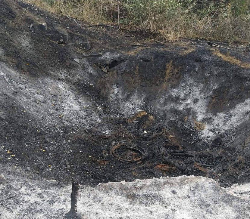 Цигани запалили кабели, е причината за пожара в Каменар (снимки)