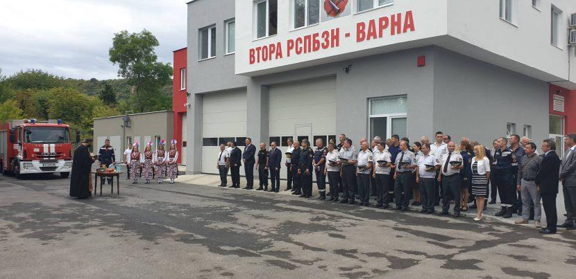 Откриха обновената сграда на пожарната служба в Аспарухово (снимки+видео)