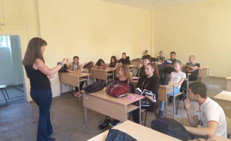 Младите спортисти на Варна в кампания срещу наркотиците, алкохола и цигарите
