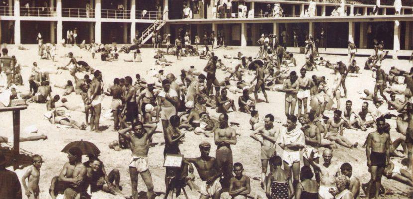 Левенти пъчили мускули на плажа във Варна