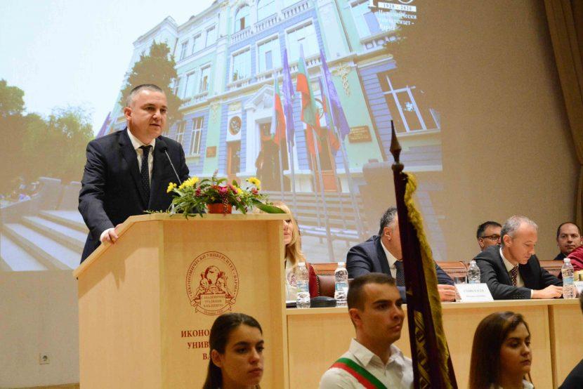 Започна новата академична година в Икономическия университет (снимки)