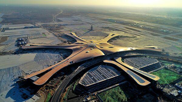 В Китай откриха най-голямото летище в света
