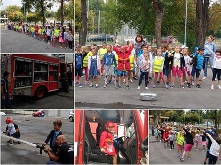 """Детска градина """"Пинокио"""" гостува на пожарникарите в """"Аспарухово"""" (снимки)"""