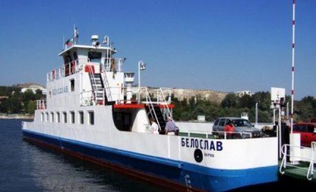 """Ремонт спира временно ферибота """"Белослав"""""""