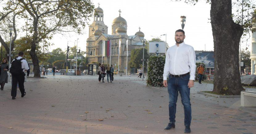 Калоян Георгиев: заглушена фейсбук кампания, силата е да си сред хората