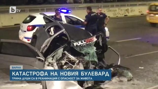 Черна статистика във Варна, 30 загинали и 613 ранени