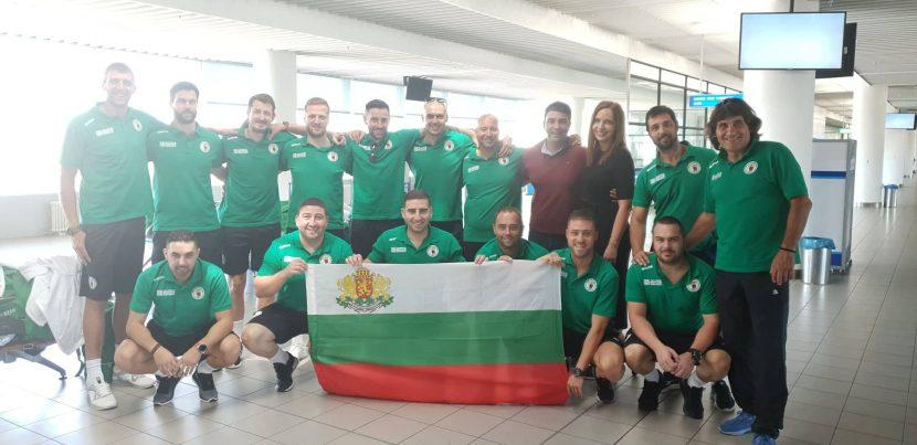 България играе контрола със световния шампион Германия