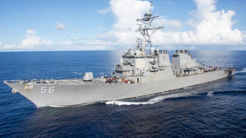 """Американският разрушител """"Портър"""" навлезе в Черно море"""