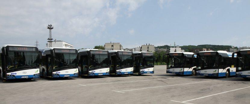 60 нови електробуса влизат в градския транспорт във Варна