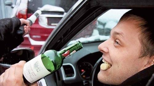 Пиян шофира по варненските улици