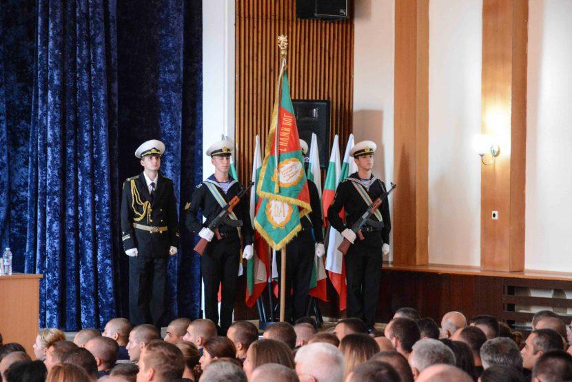 """Започна учебната година във ВВМУ """"Н. Й. Вапцаров"""" (снимки)"""