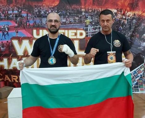 Варненец е новият шампион по Кикбокс за ветерани