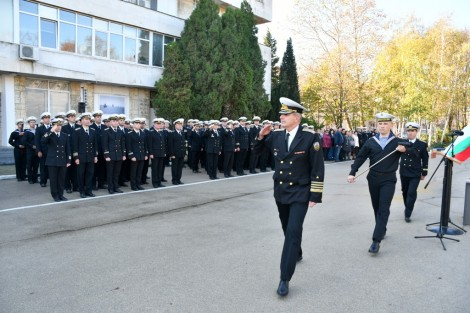 Отбелязаха 122 години от създаването на Военноморска база-Варна (снимки)