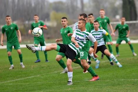 Младежките отбори на Черно море с равенства срещу Лудогорец