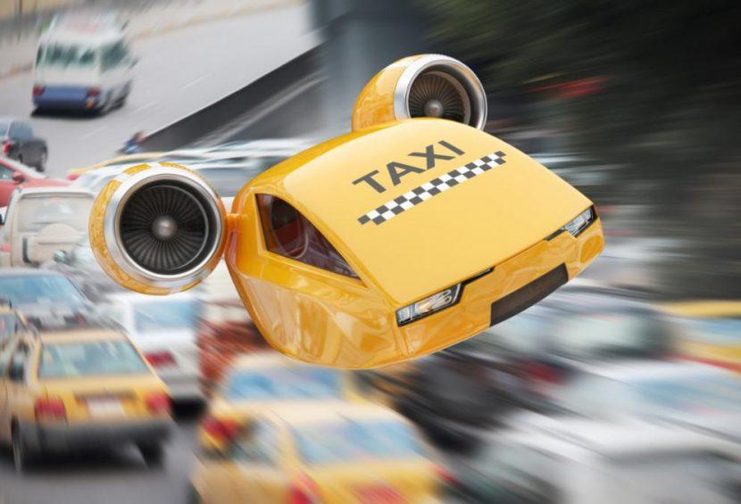Летящите таксита имат обещаващо бъдеще