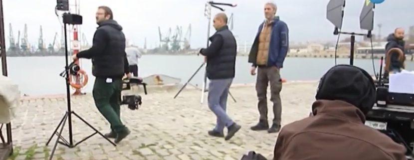 """Снимат сериала """"Откраднат живот"""" във Варна (видео)"""