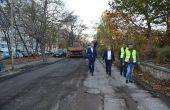 """Ремонтират улици в район """"Приморски"""""""