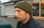 Мъж е с отхапан нос след спор на пътя (ВИДЕО)