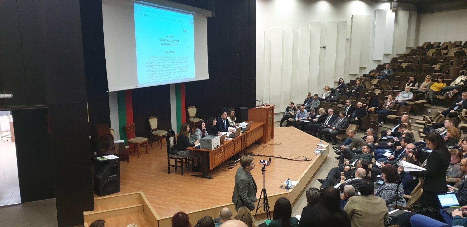 Избраха четирима заместник-председатели на Общинският съвет във Варна