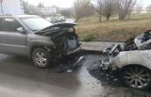 Подпалиха два автомобила тази сутрин във Варна (снимки)