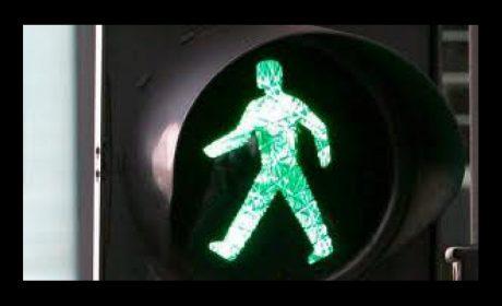 Пешеходец пострада докато пресичаше на зелено