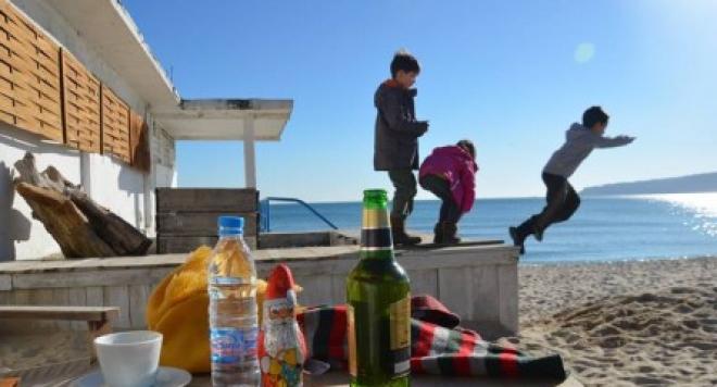 Зимата във Варна дойде с рекорд