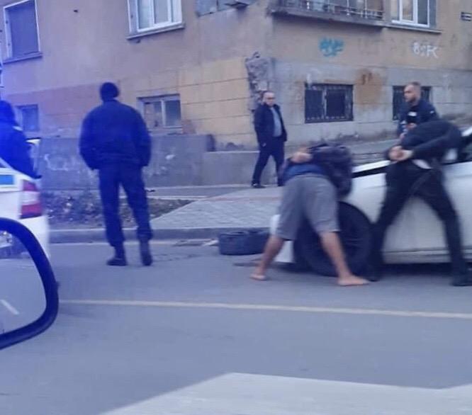 """Голям екшън на бул. """"Левски"""" във Варна"""