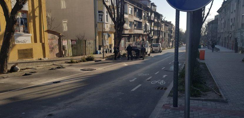 """Във вторник отварят улицата между Шишковата градинка и бул. """"Приморски"""""""