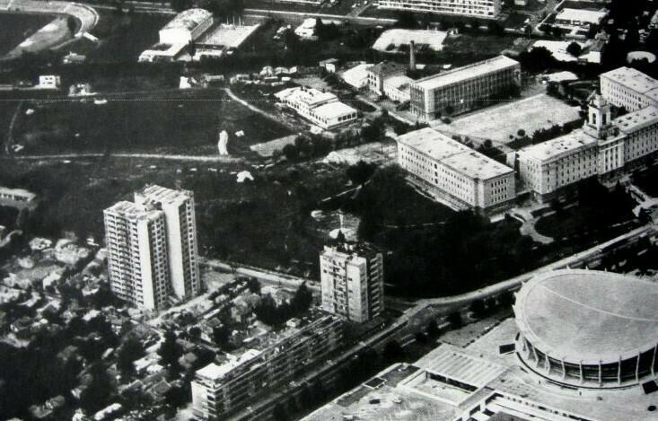 Варна от високо в началото на 70-сте (снимки)