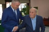 Кметът Иван Портних поздрави 104-годишния Димитър Спасов